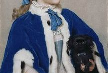 18th century: Capes, muffs etc.