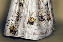18th century: Robe Parée