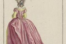 18th century: Robe à la Turque