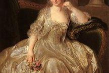 18th century: Robe à la Polonaise