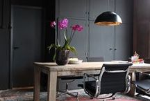 Workspace / Dreaming of the perfect home office. Interior design and decor ideas for a study, home office or workspace.