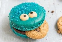 Cookie Monster Recipes / Me Want Cookies!  / by Reeni Pisano