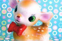 My retro style / retro dolls, retro animales