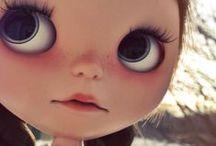 dolls + mim-pi, mimpi + Blythe dolls / different kind of dolls