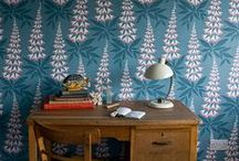 Walls / How to make your walls the star attraction. Beautiful wallpaper, feature walls, timber paneling and gallery walls.