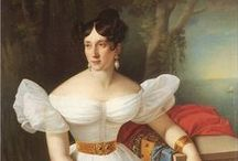 19th century: 1830s: Portraits of women / 1830s portraits of women.