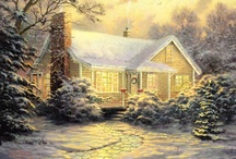Thomas Kinkade - My favorite / by Terry Wayt Welling