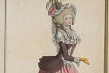 Fashion plates: 1786 / Fashion plates from 1786.