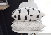 Cushions, Pillows, Throws & Ottomans / Beautiful cushions, throws and ottomans. Collecting ideas for interior decor accessories.