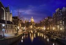 Visit Amsterdam / Explore elaborate canals, colourful narrow homes and artisitc heritage. Don't forget to visit the Anne Frank Museum and ride through the city to the Van Gogh museum, the Rijkmuseum, Vondelpark and the Royal Palace... Welcome to Amsterdam!