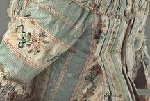 Projects: Striped robe à la Française / Project for 2014