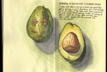 Beautiful sketchbooks and art journals / Sketchbook artists I admire
