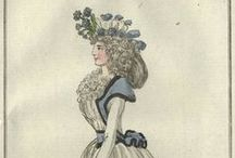 Fashion plates: 1792 / Fashion plates from 1792.