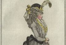 Fashion plates: 1793 / Fashion plates from 1793.