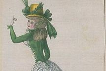 Fashion plates: 1790 / Fashion plates from 1790.