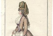 Fashion plates: 1791 / Fashion plates from 1791.