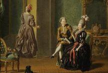 18th century: Sweden / National Dresses from Sweden.