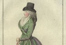 Fashion plates: 1794 / Fashion plates from 1794.