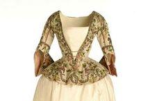 18th century: Silk brocade jackets / Silk brocade jackets.