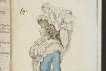 Fashion plates: 1789 / Fashion plates from 1789.