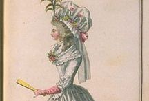 Fashion plates: 1787 / Fashion plates from 1787.