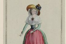 Fashion plates: 1788 / Fashion plates from 1788.