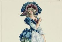 Fashion Plates: 1785 / Fashion plates from 1785.