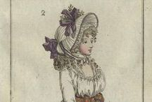 Fashion plates: 1795 / Fashion plates from 1795.