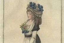 Fashion plates: 1796 / Fashion plates from 1796.