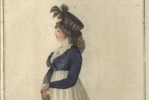 Fashion plates: 1797 / Fashion plates from 1797.