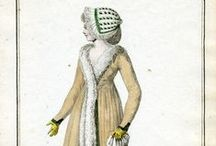 Fashion plates: 1798 / Fashion plates from 1798, or an VII (7).