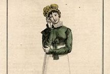 Fashion plates: 1810 / Fashion plates from 1810.