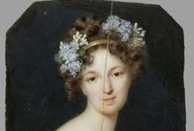 1820s hair, caps and hats