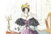 Fashion plates: 1830s / 1830s fashion plates.