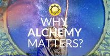 """Alchemy School / An alchemist's goal is to become an active, aware agent in guiding his/her evolution. As the founder of Damanhur and the School of Alchemy, Falco Tarassaco said, """"Alchemy creates a constant link between spiritual and physical development, so that evolution can be driven by intention and knowledge."""" More info on the Alchemy School: alchemy.damanhur.org"""