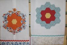 Re-purposing quilt pieces (unfinished quilts)