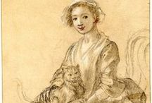 18th century: Prints, drawings, sketches etc.
