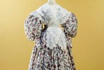 19th century: 1830s: Women's fashion / 1830s ladies fashion