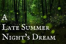 A Late Summer Night's Dream / The latest masquerade party! Coming in September!