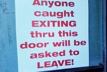 Funny Office Signs / by Funny Signs