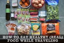 Travel Foods / Foods and recipes that are easy to make and transport when looking to eat healthy while traveling. All food and recipes are gluten-free, dairy-free, and paleo.