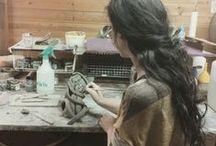 ceramic-my works in progress