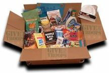 "Military Care Packages / Sending ""Love"" in a box. / by Tonia Zarkie"