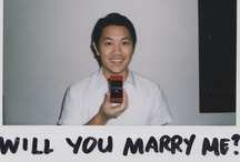 Engaged! / www.maypamintuan.com | Fuji Instax Mini 7s | Read about it - Engaged in an Instax: Berts and May by Mia Bontol / by May Pamintuan