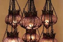 lights  & crystal chimes / by Debby Miller
