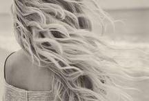 tresses. / Tresses (noun): Long locks or curls of hair. / by addi wood
