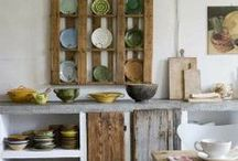 country kitchens...vintage too! / by Debby Miller