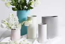 vase / to support the beauty of flower/plant / by Anette Fragile Kim