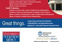 University Partners / College's and Universities that partner with Macomb Community College / by Macomb Community College
