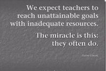 Teachers & Teaching / by Pilar Pamblanco